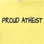 proud atheist t-shirts stickers and other gifts