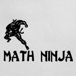 Math Ninja funny shirts and gifts for geeks and nerds