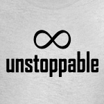 infinity unstoppable math geek humor t-shirts and gifts
