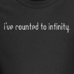 I've counted to infinity math geek and nerd t-shirts
