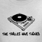 The tables have turned pun humor jokes on t-shirts