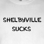 Shelbyville Sucks humor Simpson's reference t-shirts and other gifts