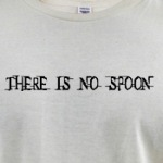 there is no spoon trippy matrix humor shirts and gifts
