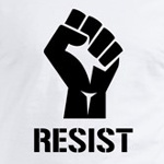 Resist Trump liberal progressive t-shirts and stickers