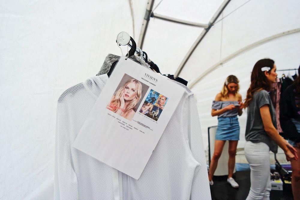 Photo inception at Perth Fashion Festival.