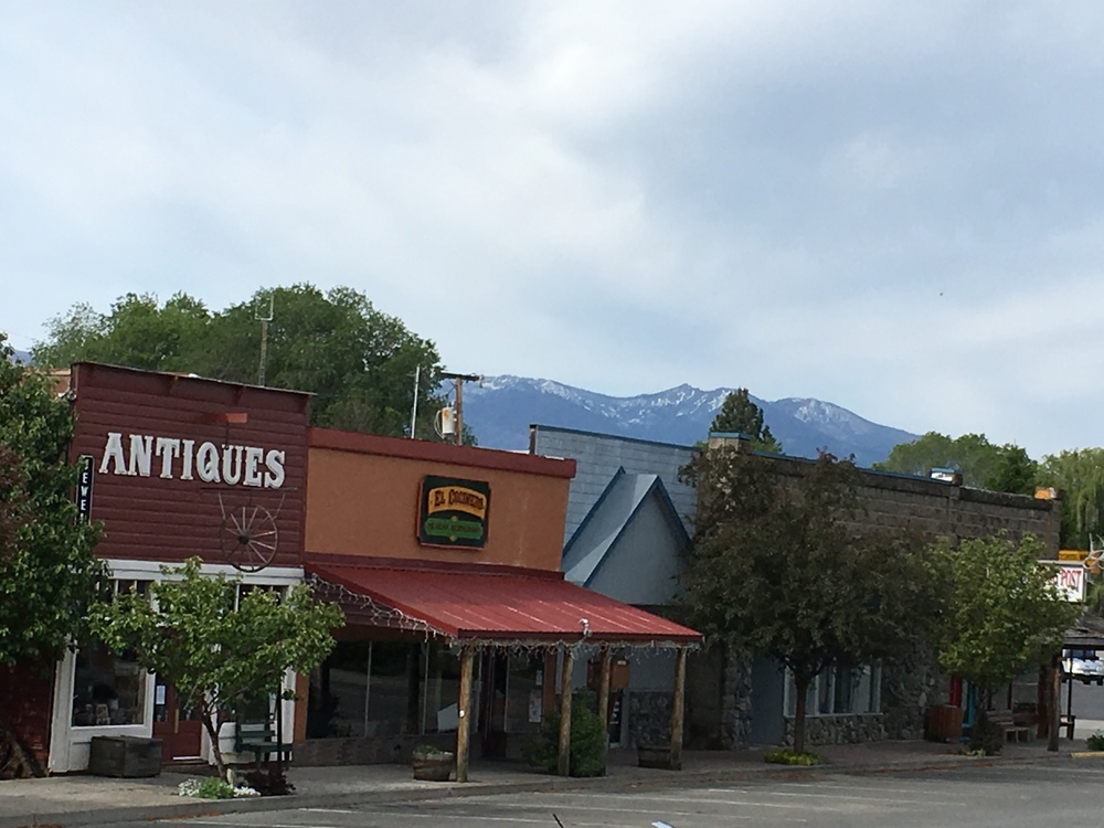 Main Street in Prairie City, Oregon