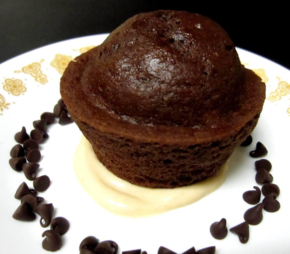 Dark Chocolate Cupcake Recipe Pic