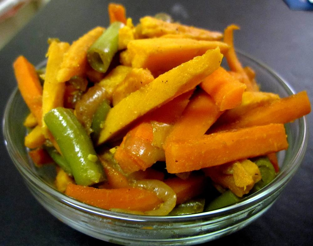 Stir-fry Vegetables Recipe Pic