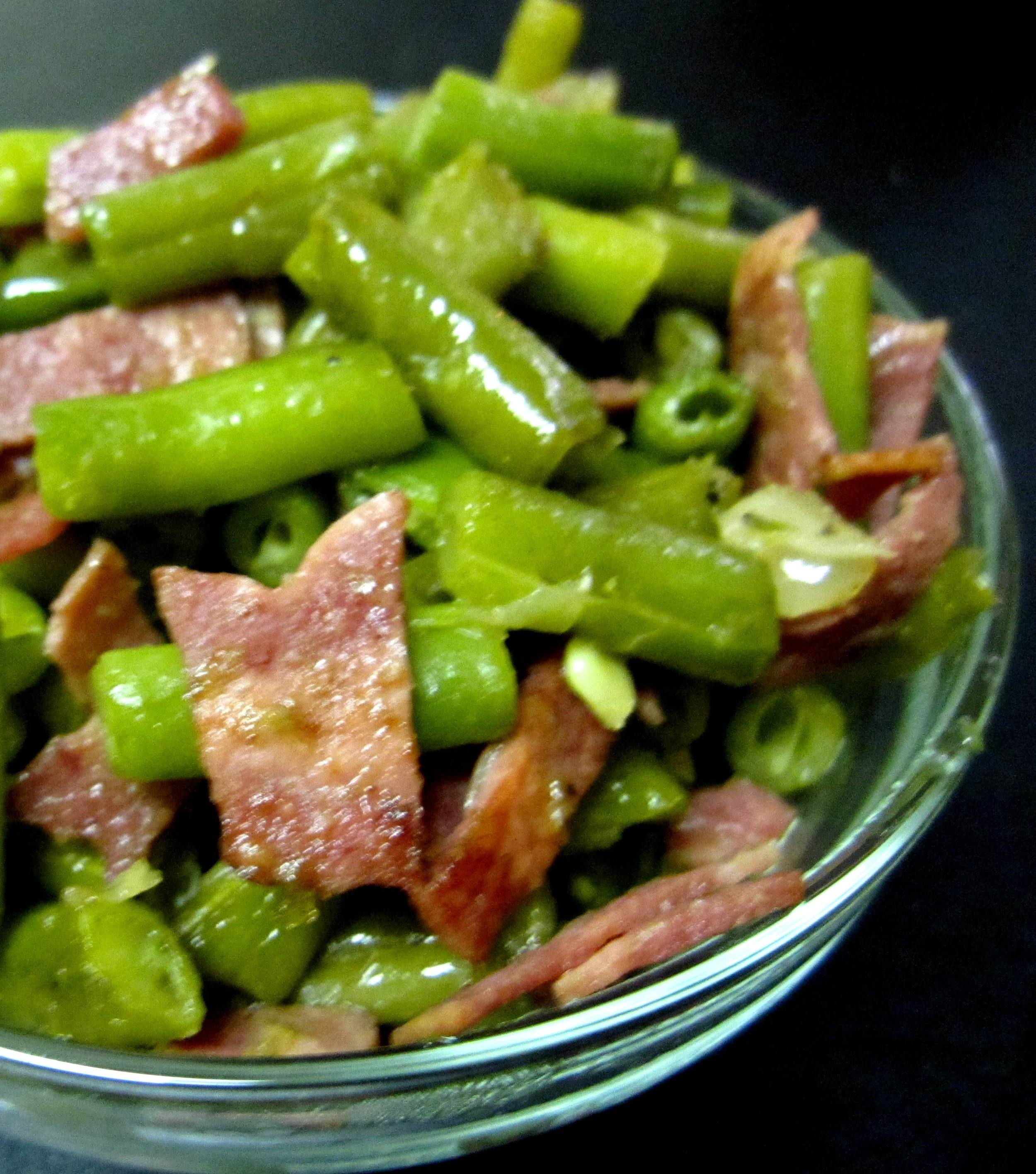 German-style Green Beans Recipe Pic