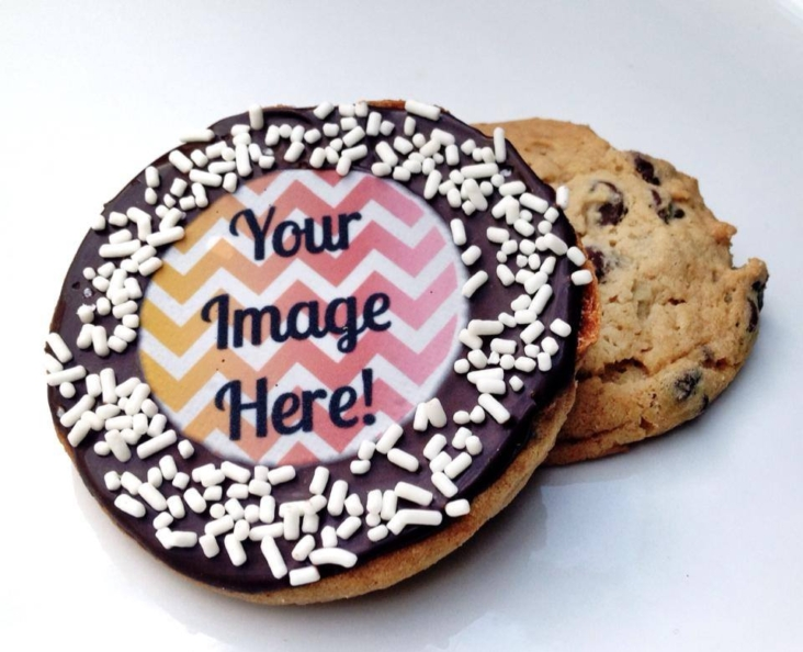 """Your Image Here"" Cookie"