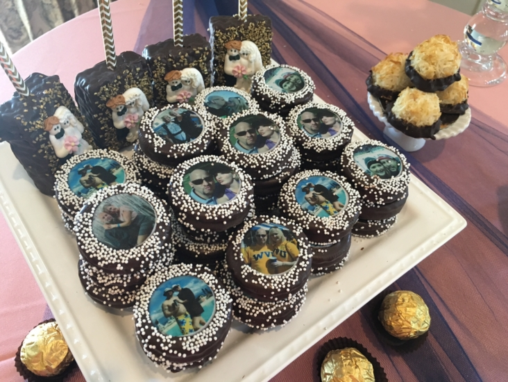 Wedding Dessert Krispies & Oreos