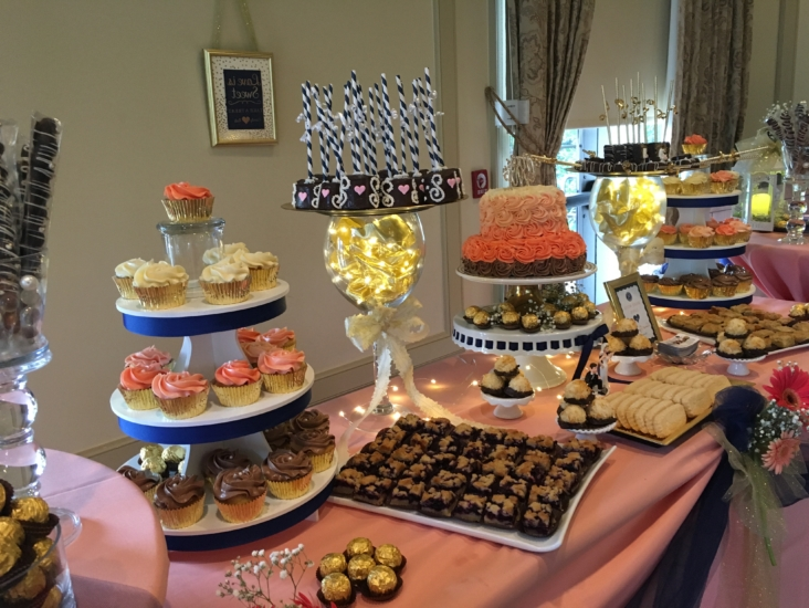 Wedding Dessert Table Spread