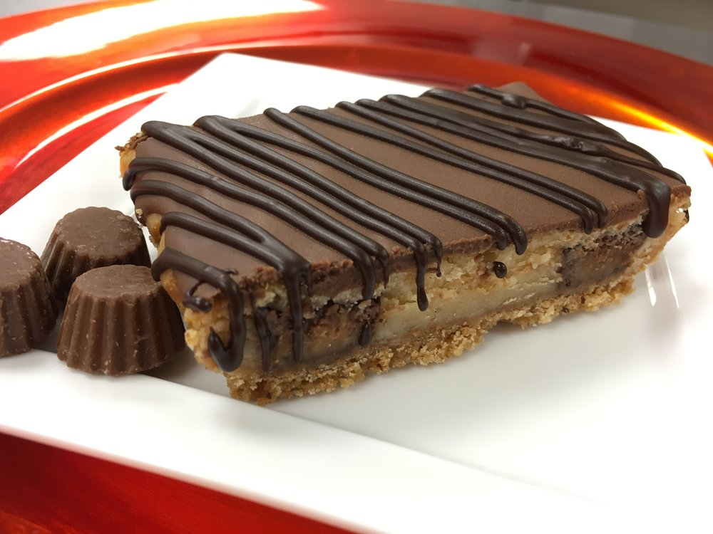 Our Reese's Peanut Butter Cup Cheesecake