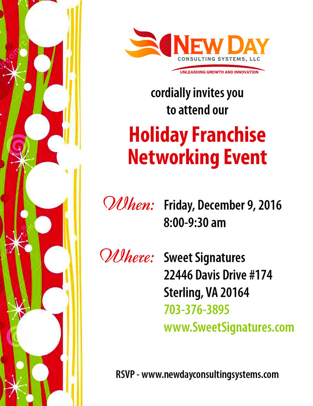 networking event flyers