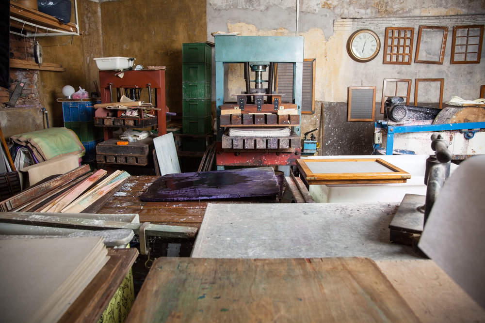 Tools In Paper Factory