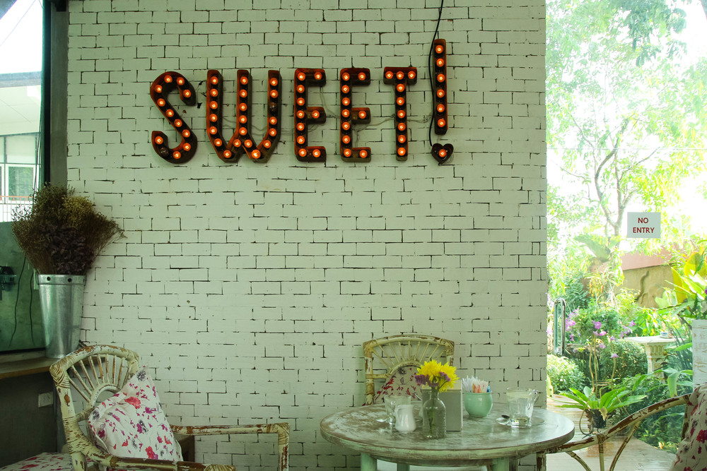 Chiang Mai Thailand Diff Home Bakery Kitchen cafe food marquee sweet