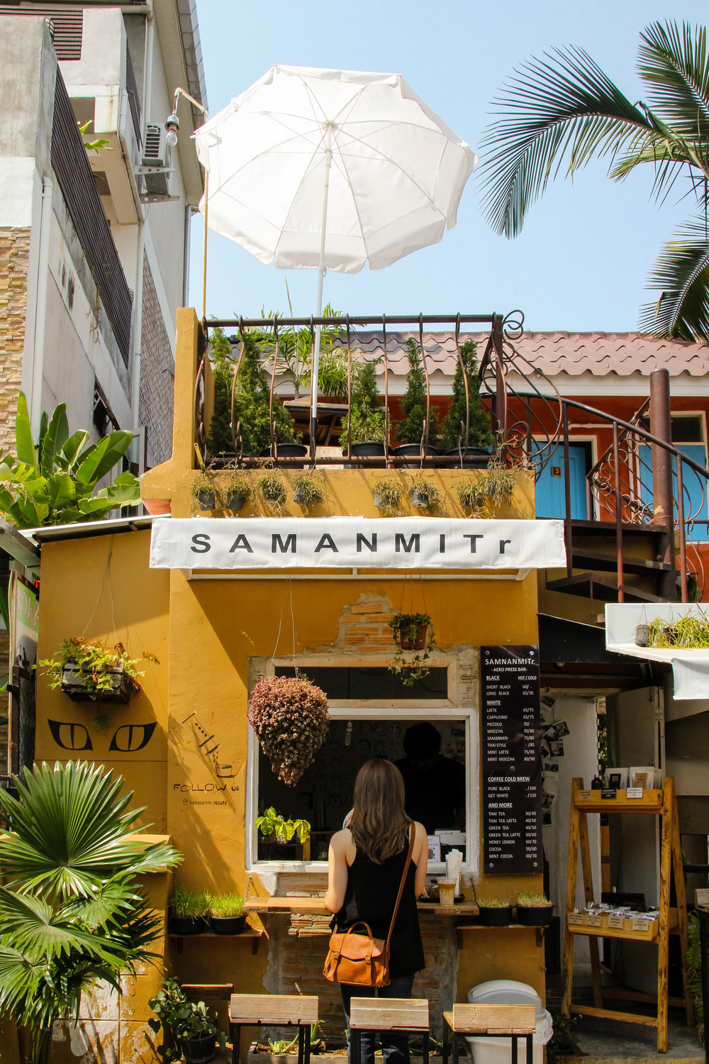 Chiang Mai Thailand Samanmitr House coffee cafe