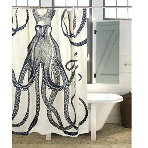 72 Octopus Shower Curtain Ink By Thomas Paul