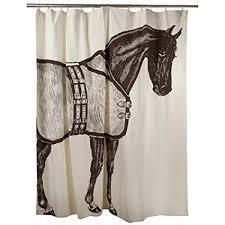 Equestrian Shower Curtain Table Leg Home