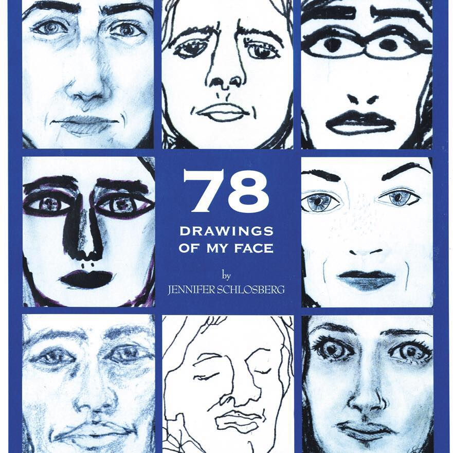 78 DRAWINGS OF MY FACE, 1998