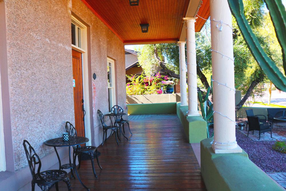 The Phoenix Birth Center Porch