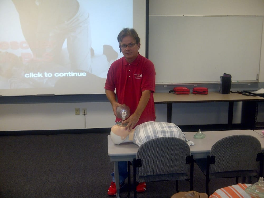 Instructor Larry Sims!Larry has been teaching CPR for over 26 years for the American Heart Association. He has been rated for the last two years as the best CPR trainer in the valley from the Phoenix Businesses.