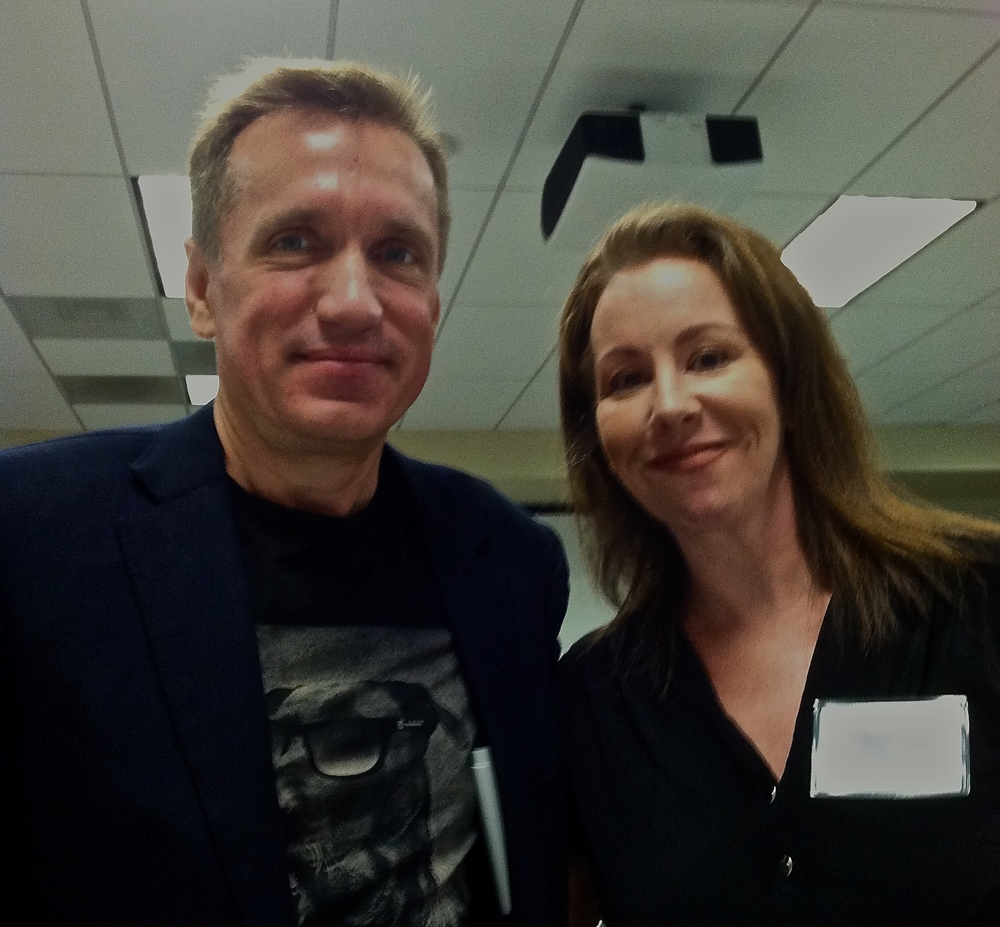 James Rollins and Marie in Sacramento