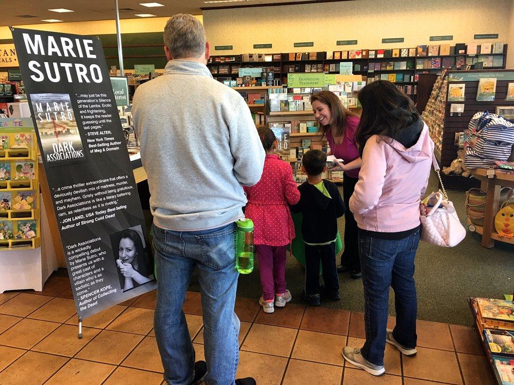 Book Signing, Barnes & Noble - San Mateo