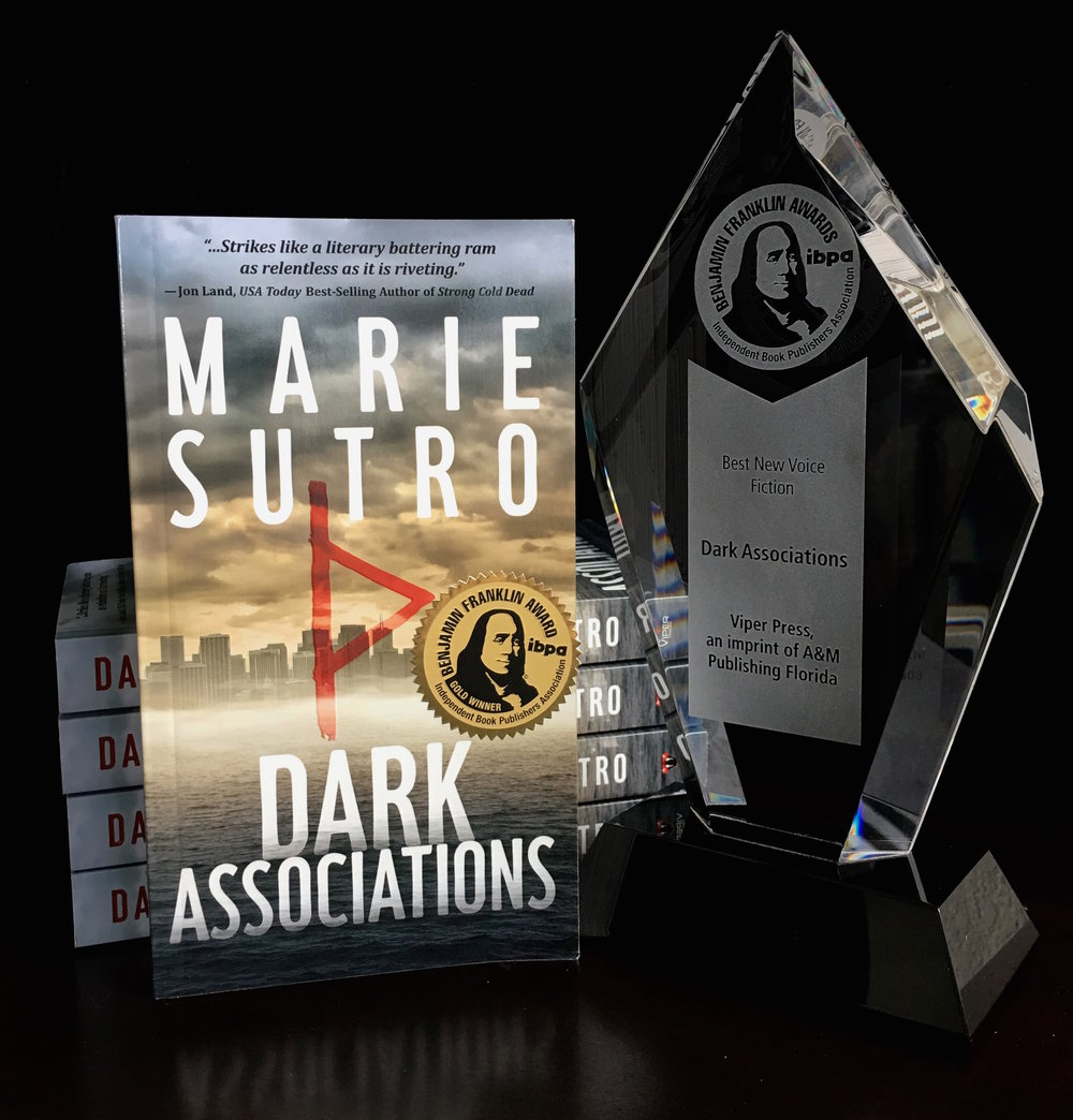 2018 IBPA Benjamin Franklin Gold Award Winner - - BEST NEW VOICE IN FICTION