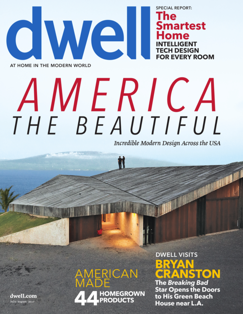Dwell Magazine. July/August 2013. Print