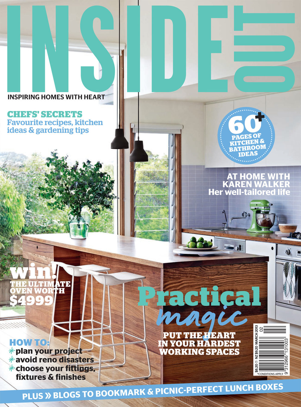 Inside Out (Australia). March 2013. Print