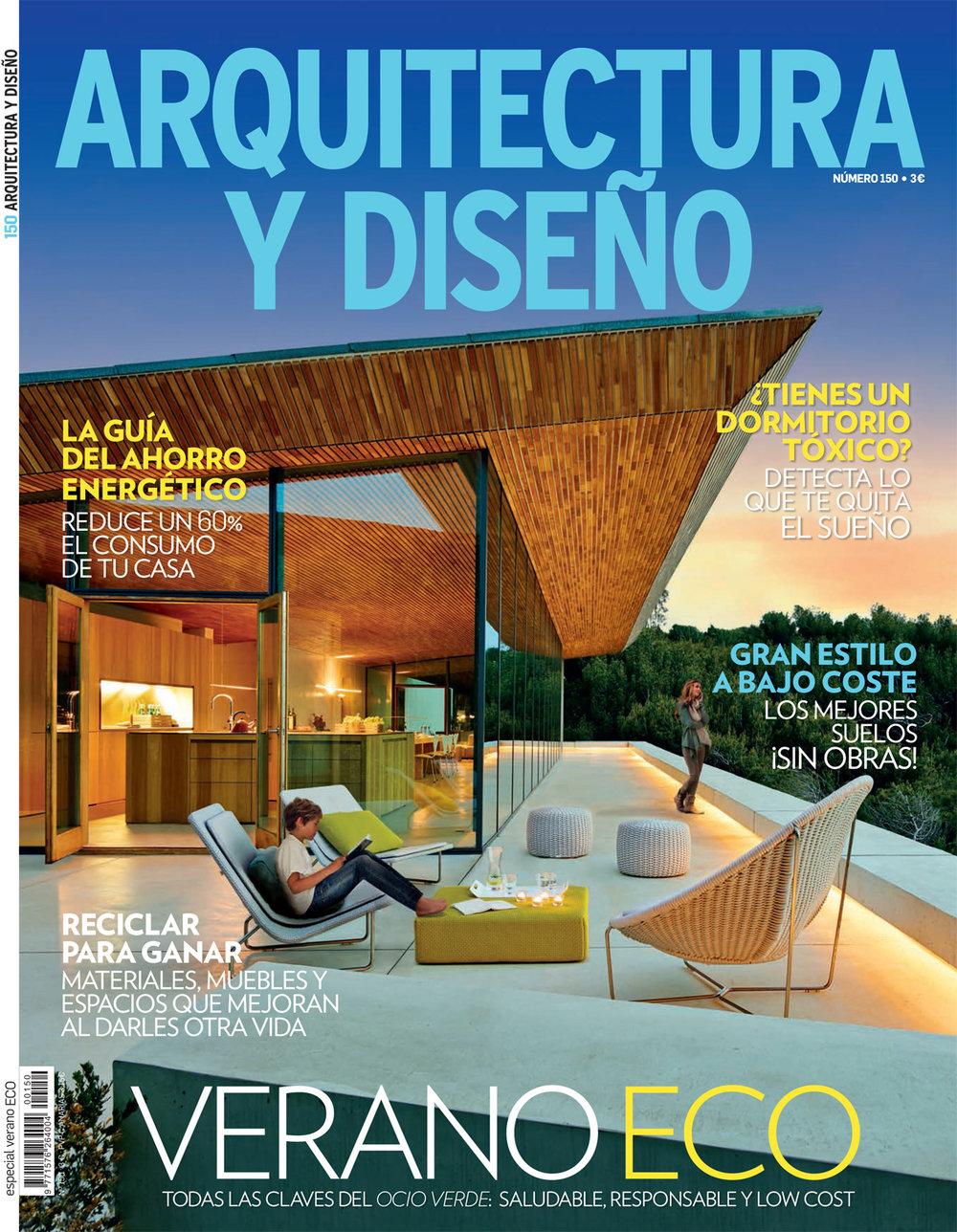 ARQUITECTURA Y DISENO (Spain). July 2013. Print