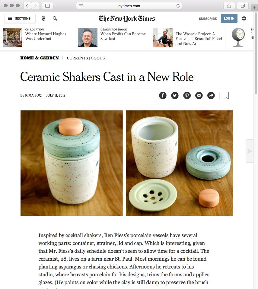 New York Times, 2012. Print