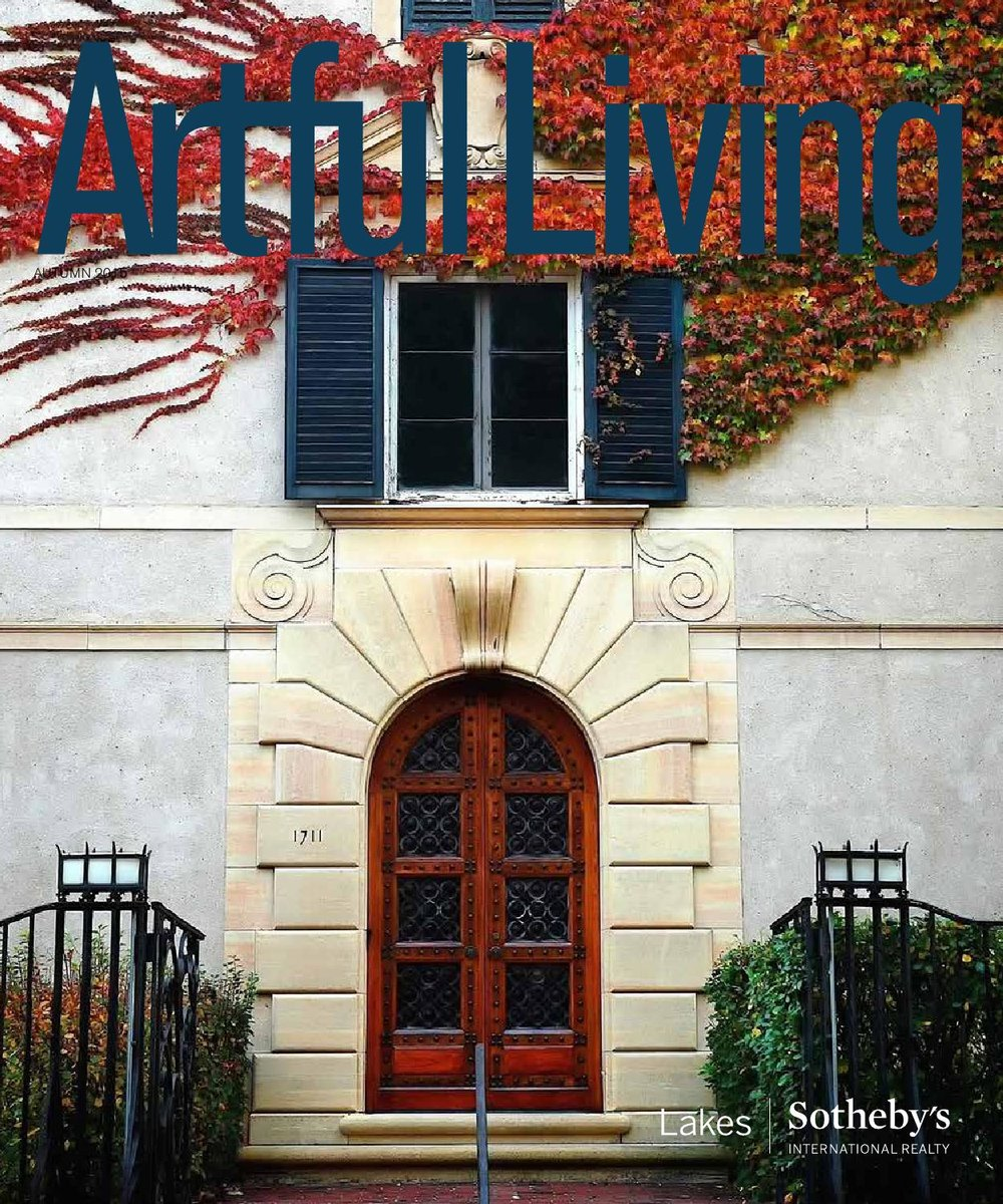 Artful Living, Autumn 2015. Print