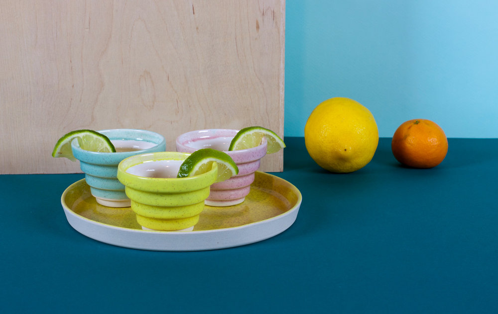 Ziggy, Plate, Citrus