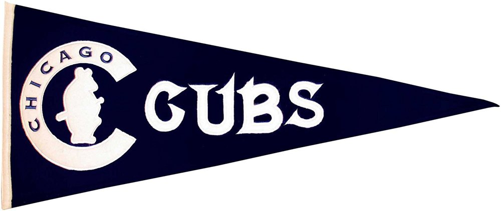 Cubs Pennant