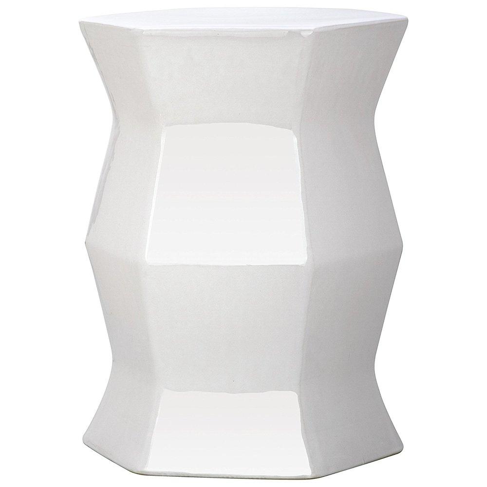 Geometric garden stool