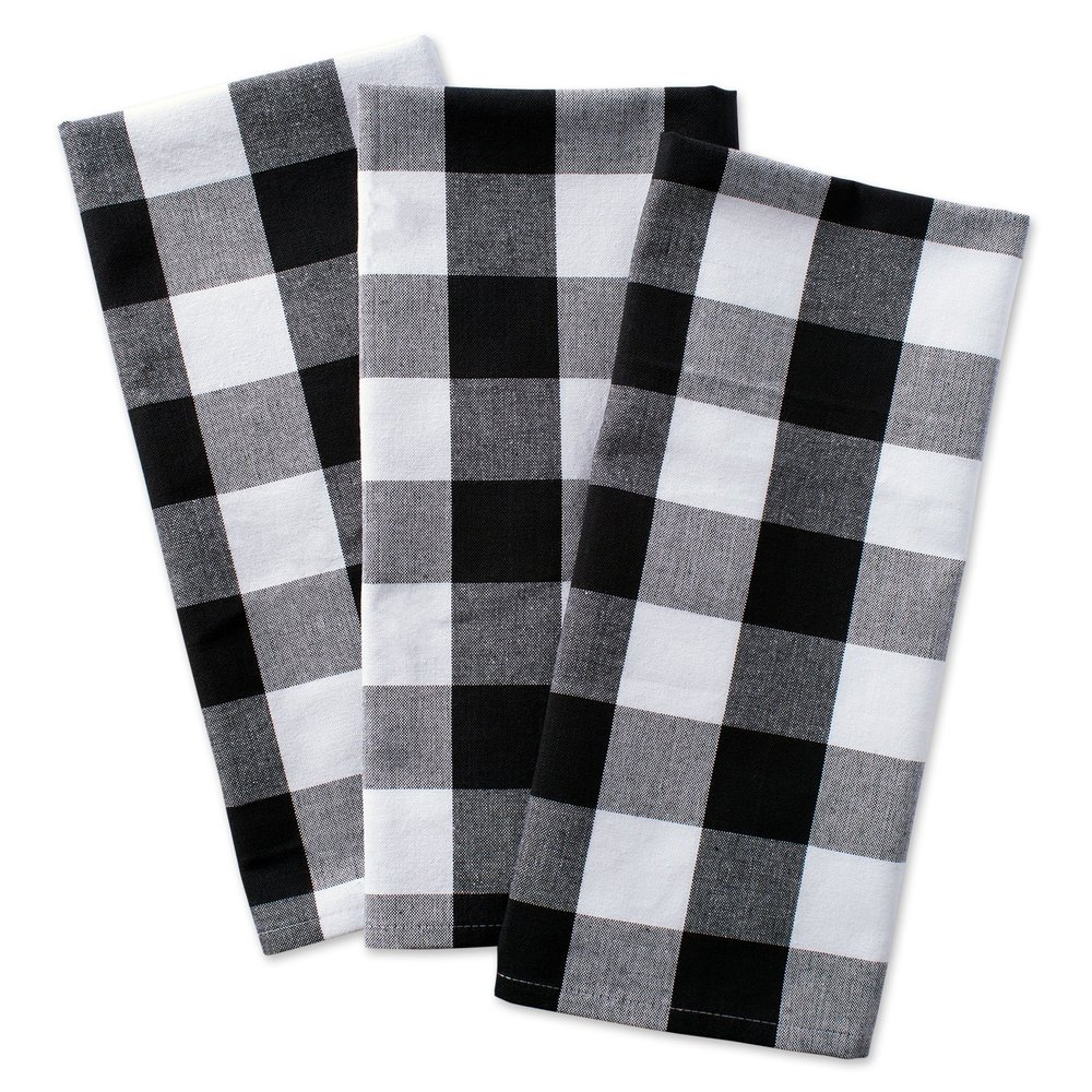 Buffalo check kitchen towels