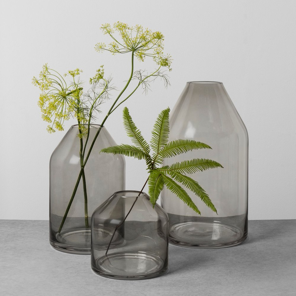 A Vase for Fresh Greenery