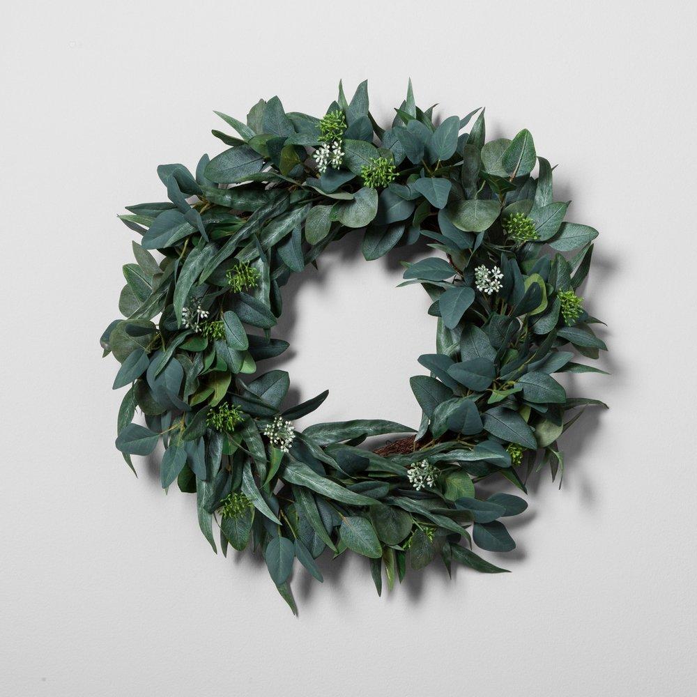 A Welcoming Front Door Wreath