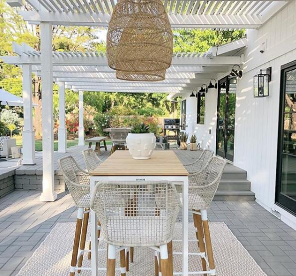 Backyard Deck Plan and Moodboard