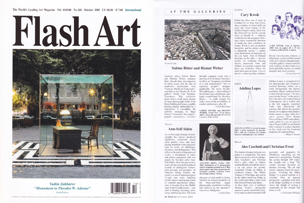 Cary Kwok - Flash Art Magazine (Vol  XXXVIII No 244) - Oct 2005 (e).jpg
