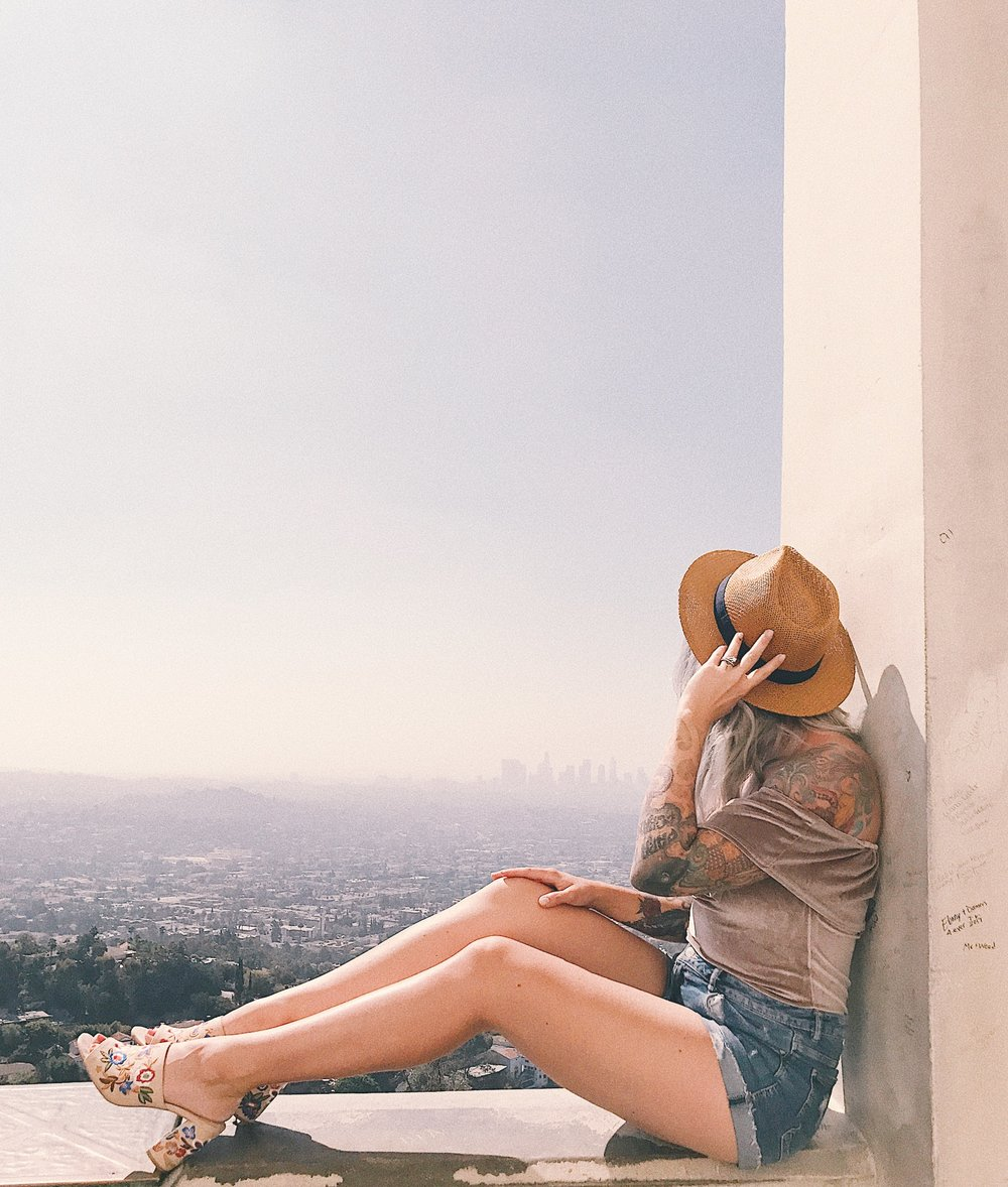 Griffith Observatory Los Angeles lifestyle blogger