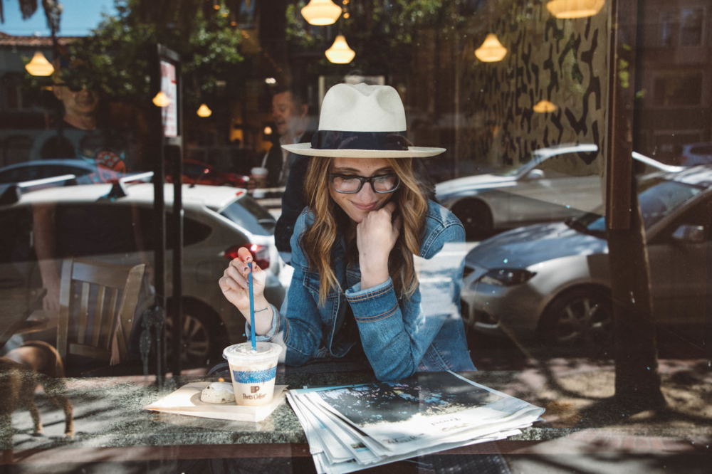 Julia O Test Creative - brand photography San Francisco - Peets Coffee