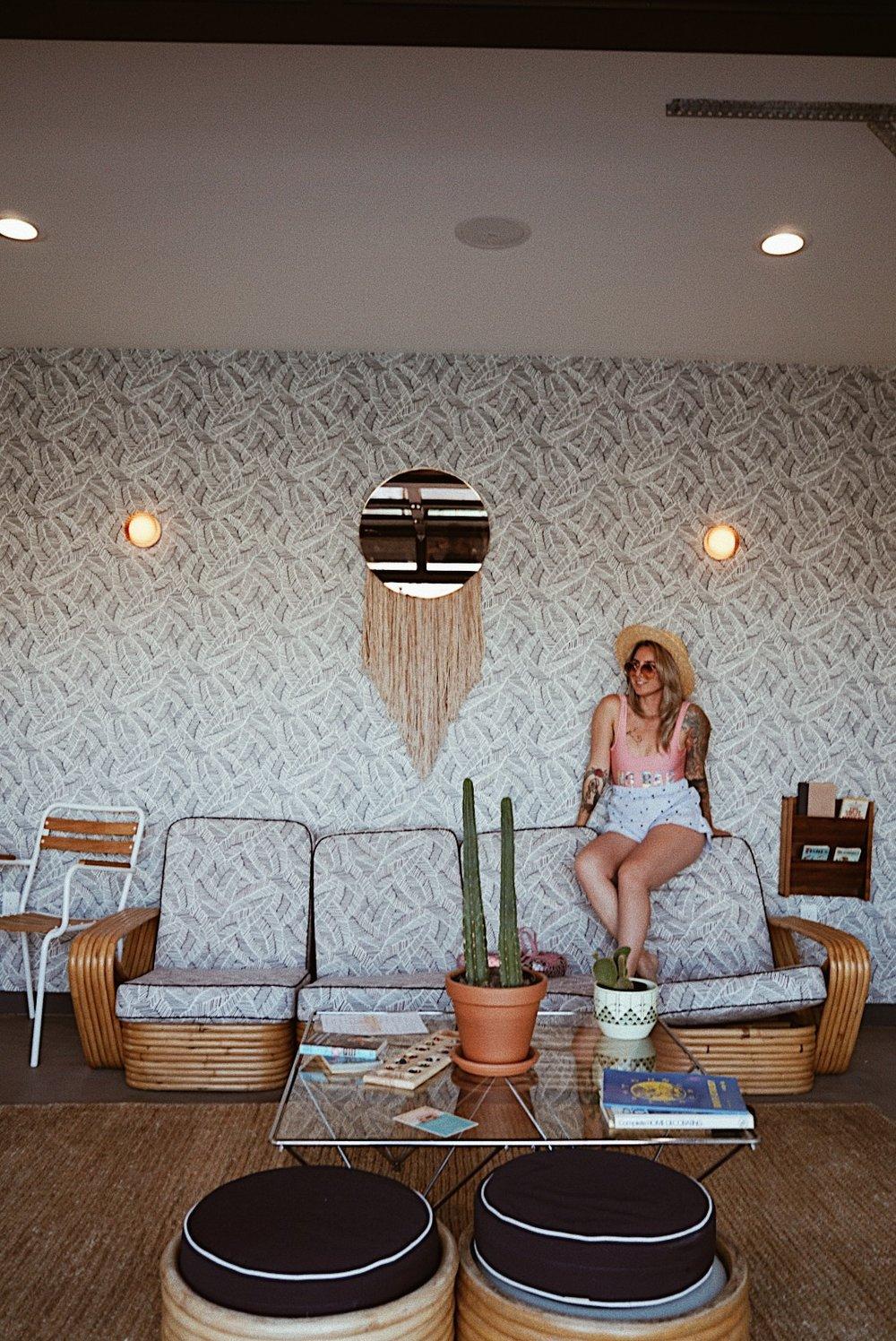 julia o test creative - santa rosa - travel blogger - california - the sandman hotel