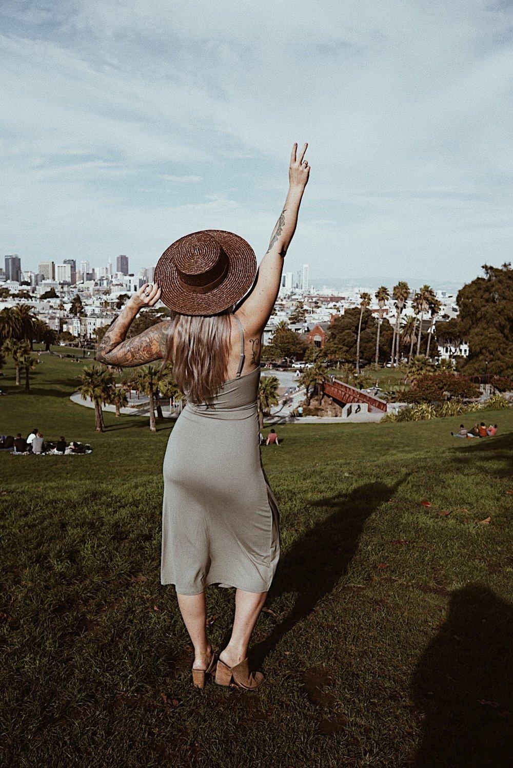 julia o test top san francisco peaks for instagram photos dolores park
