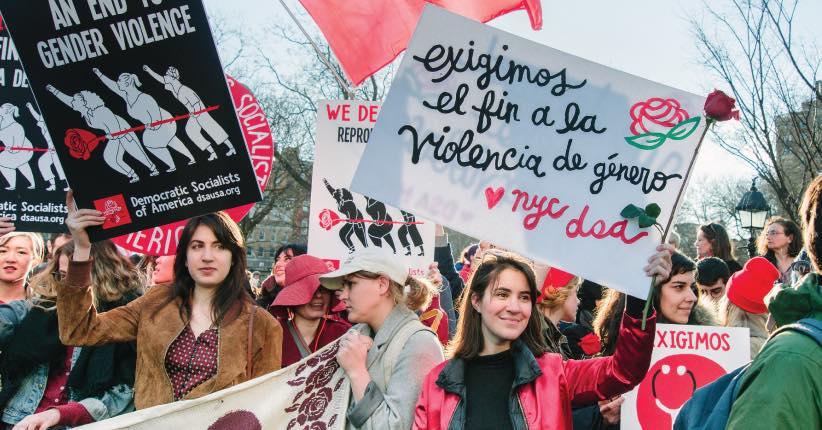 Womens strike nyc