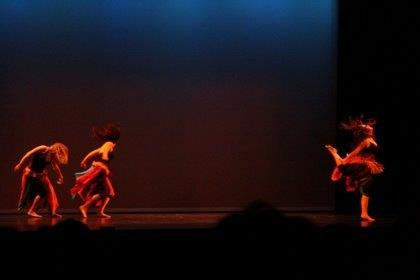 """In Rhythm"" ~ A high energy contemporary dance piece with the company! Photo by Marco Caranzza"