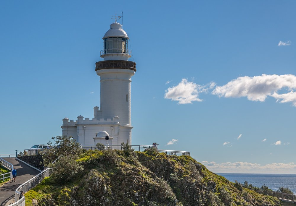 Beautiful Byron Bay light house