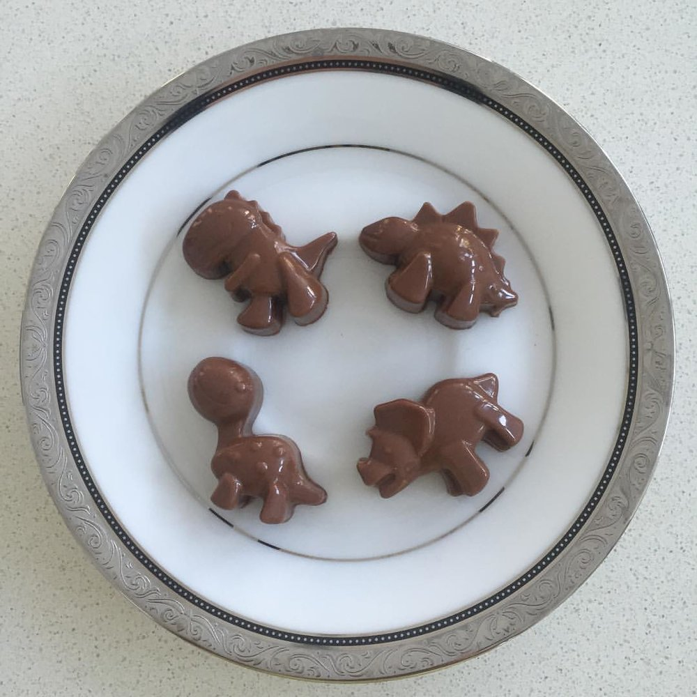 It all started with these chocolate critters!